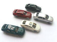 10 x Model Cars Vehicles 1:150 N Scale Gauge Railway Layout Architecture Toy