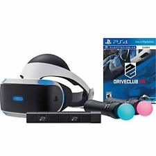 Sony PlayStation VR Driveclub Starter Bundle 4 Items: VR Motion Camera VR