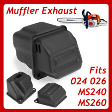 Muffler Exhaust for Stihl Chainsaw 024 026 MS240 MS260 1128-140-0604 H90026