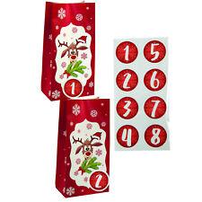 Weihnachtskuchen Taschen Candy Kekse Plastik Geschenktüte Schnee LuGR 50stk