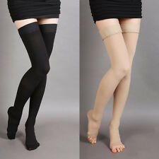 Compression Thigh High Stockings 20-30-mmHg Relief Support Prevent varicose vein