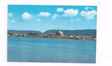 CANADA Nova Scotia vintage std sz chrome post card Cheticamp from Cheticamp Isl