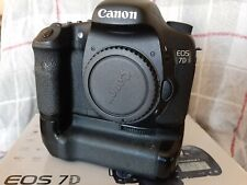 Canon EOS 7D 18.0MP Digital SLR Camera - Black (Body Only) with Battery Grip