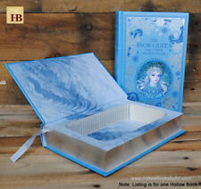 Hollow Book Safe - The Snow Queen - Leather Bound Book Safe