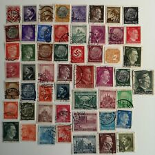 50 Different Germany 3rd Reich 1933-45 with Territories Stamp Collection