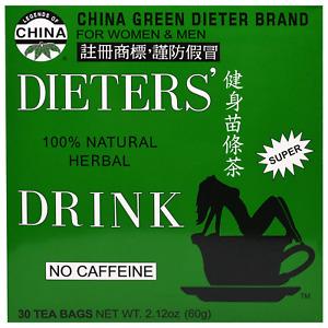 Uncle Lee's Dieters Drink Tea 30 Bags ***  LETTER BOX FRIENDLY UK STOCK