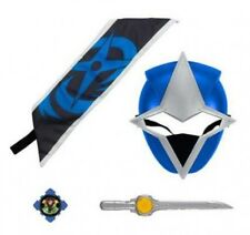 Power Rangers Ninja Steel Blue Ranger Hero Set Roleplay Toy
