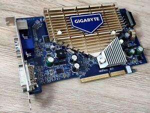 Gigabyte GeForce 7600GS 256MB AGP 8x Graphics Card GV-N76G256D-RH VGA Video Card