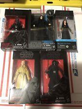 Star Wars Black Series Darth Vader Wrath Emperor Palpatine Dark Rey Kylo & Snoke
