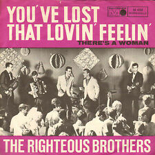 "RIGHTEOUS BROTHERS ‎– You've Lost That Lovin' Feelin' (1965 SINGLE 7"" GERMAN PS)"