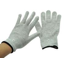 1pair Electro Shock Kit E-Stim Electro Gloves Men Therapy Device accessories