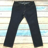"ana Womens Jeans size 20 new Dark Wash Straight Leg x31"" inseam Cotton Stretch"