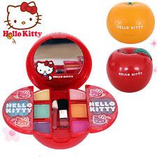New Lovely Hello Kitty Apple Make Up Set Toy Set For Girls Kids Children Red