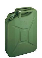 4 X 20 Liter Benzinkanister Metall Inkl. Auslaufrohr