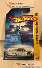 Volkswagen Karmann Ghia #38 * Silver * 2006 Hot Wheels * H11