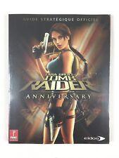 Lara Croft Tomb Raider Anniversary Guide Officiel Neuf PS2