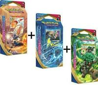 Pokemon TCG Sword and Shield Base Set Theme Decks - All 3 Decks - PREORDER