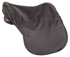 ALL PURPOSE ENGLISH JUMPING BLACK LYCRA PROTECTIVE LIGHT HORSE SADDLE COVER