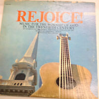 Rejoice! Music For The Worship Of God MCS10030 33RPM Records 031717RR