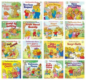 n NEW The Berenstain Bears Set of 16 Living Lights Storybook Kids Reader Book