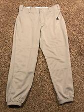 Adidas Large Mens Gray Climalite Gray Baseball Pants A15