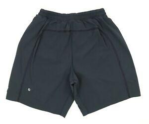 Lululemon Black Lined Active Training Workout Shorts Men's Size Large
