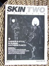 """Skin Two No 2"".  1984. Fetish Fashion, Fun & Games. Latex, Leather etc."