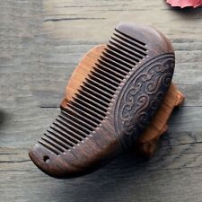 Vintage Pocket Comb Wooden Comb Sandalwood Narrow Tooth NoStatic Lice Beard Gift