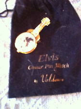 NOS 1993 RARE ELVIS GUITAR PIN WATCH BY VALDAWN, INC.