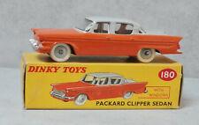 Dinky Toys 180 Packard Clipper Orange / Grey  Near Mint Boxed