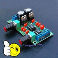 AC 12V-15V Low-pass Filter NE5532 Bass Board Subwoofer out Pre-Amplifier Board