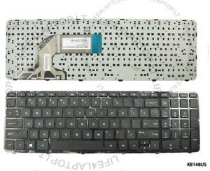 neue schwarze USA Tastatur für HP Pavilion 15-N 15-E 15t-n 15-D 15-G mit Rahmen