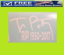 TOM PETTY RIP HEARTBREAKERS VINYL DECAL STICKER WINDOW CAR WALL ROCK LEGEND