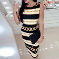 Beba Shop® Vestidos De Rayas Moda Para Mujer Cortos De Fiesta Elegantes Casuales