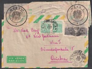 BRAZIL Front of Cover to Austria