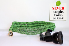 Best 25 FT Expandable Garden Hose 100% Brass Fittings & 8 Function Spray Nozzle
