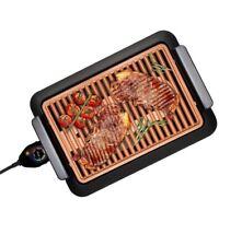 Piastra Elettrotermica Per Barbecue Veloce Fast BBQ Grill Griglia Senza No Fumo