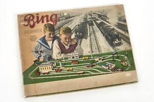 Lot 200227 Bing Katalog 1931, Eisenbahnen für Spur 0 und Spur 1 - bitte lesen!