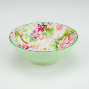 Shelley Porcelain - Maytime Chintz - Miniature Bowl - Art Deco!