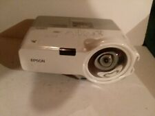 Epson PowerLite 410W LCD Projector w/1062 hours used