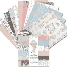 12PCS 6 x 6'' Vine Paper Pad  Single-sided Scrapbooking Card Album Making DIY