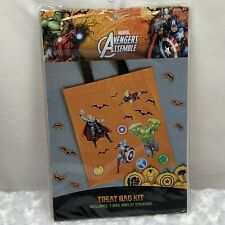 Treat Bag Kit MARVEL AVENGERS ASSEMBLE New In PKG 1 Bag And 21 Stickers Age 3+