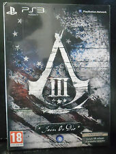 ASSASSIN'S CREED III 3 JOIN OR DIE LIMITED EDITION NUOVA VERSIONE ITALIANA PS3