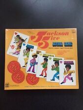 """SEALED NEW"" RARE Michael Jackson Five 5 Action Board Game  Shindana 1972"