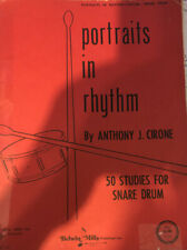 Portraits In Rhythm By Anthony J. Cirone: 50 Studies for Snare Drum 1966