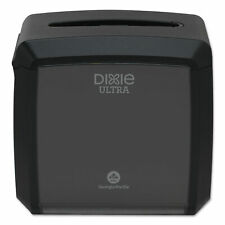 "Dixie Ultra Tabletop Napkin Dispenser, 7.6"" x 6.1"" x 7.2"", Black 54527A"