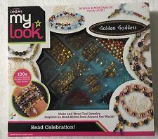 My Look Golden Goddess Bead Celebration Jewelry Making Set New