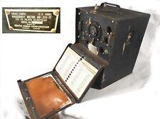 Signal Corps U.S ARMY Frequency Meter BC-221-T Zenith Radio USA Ham Radio