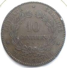 Ceres 10 centimes 1871 A bronze #1165