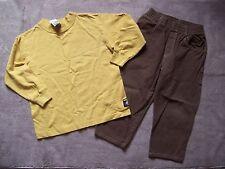 New Charlie Rocket Boys Long Sleeve Shirt 5 & Twill Pants 4 School Clothes Set